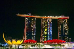 Son et lumière du Marina Bay Sands