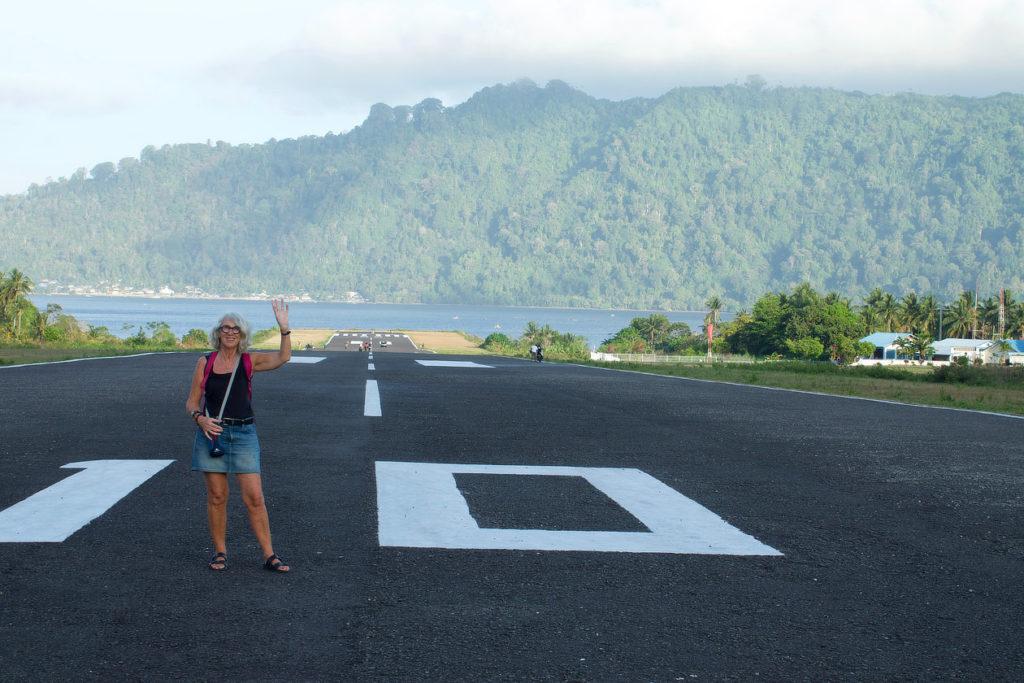 Bandaneira,Indonésie,Moluques,aéroport