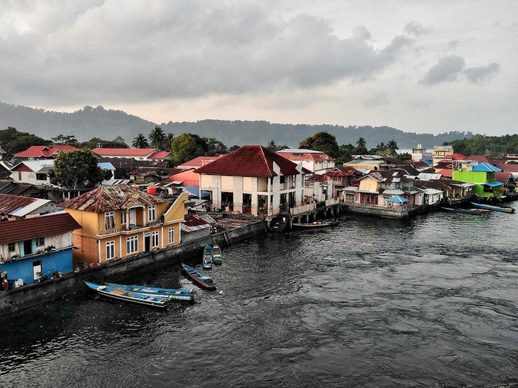 Bandaneira,Banda,Moluques,port,