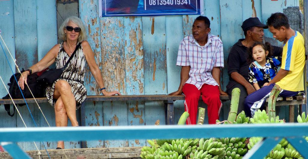 Bandareina, Moluques,iles Banda
