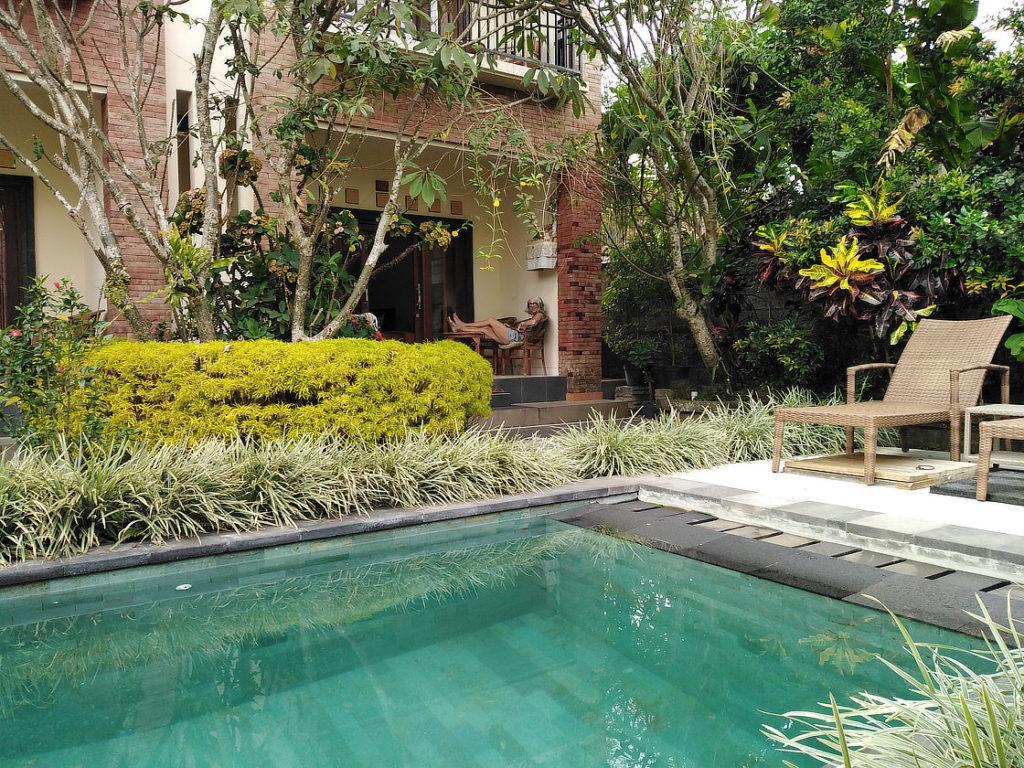 Notre guesthouse à Ubud