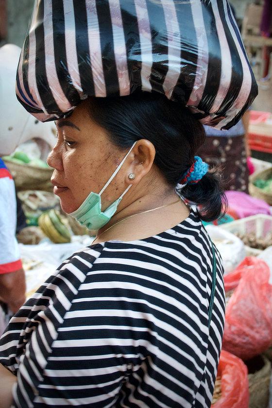 Sur le marché d'Ubud