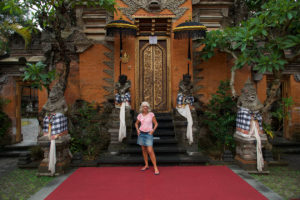 Chantal Diveu à Ubud Palace