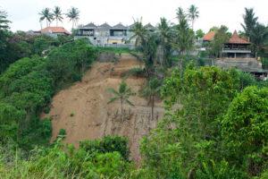 Chantier de construction à Ubud