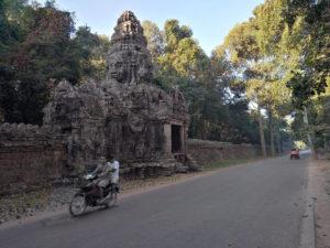 Une des portes du Banteay Kdei