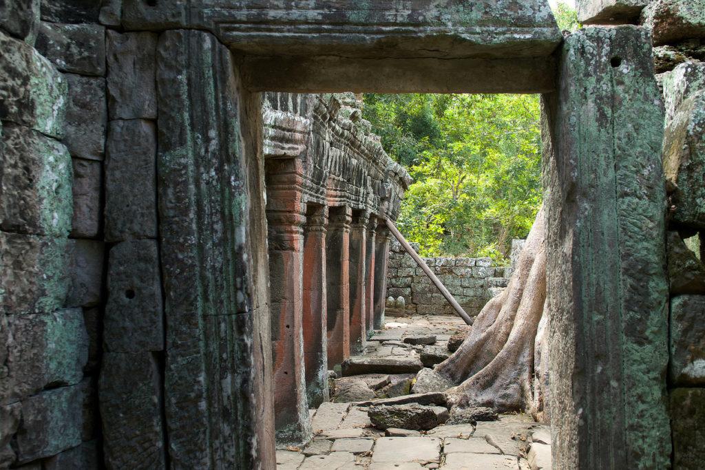 Dans le Banteay Kdei