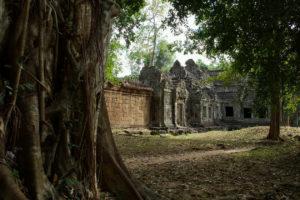Une porte du Preah Khan