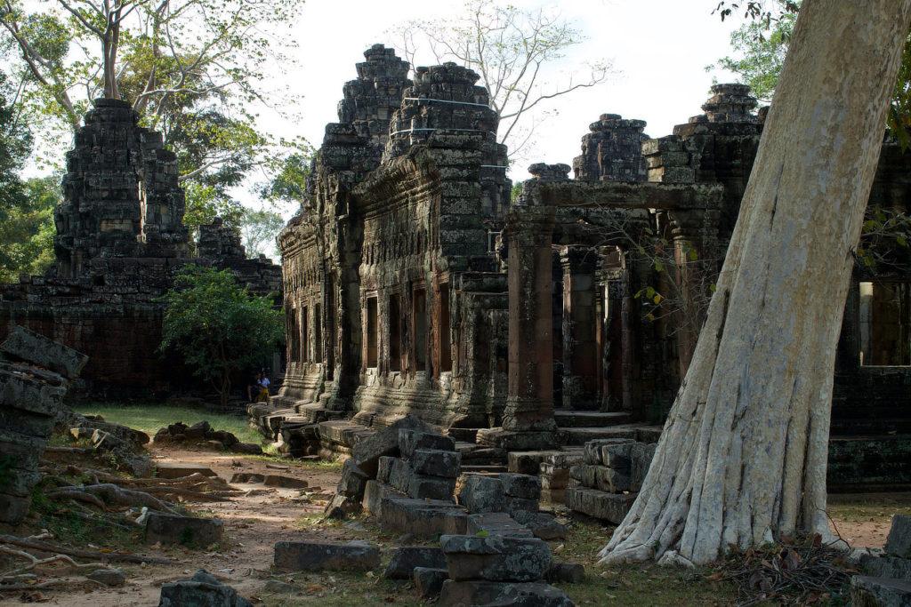 Une des entrées de Banteay Kdei