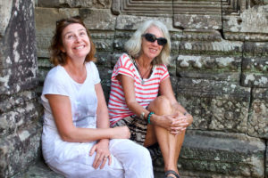 Chantal et Valérie en pleine visite !
