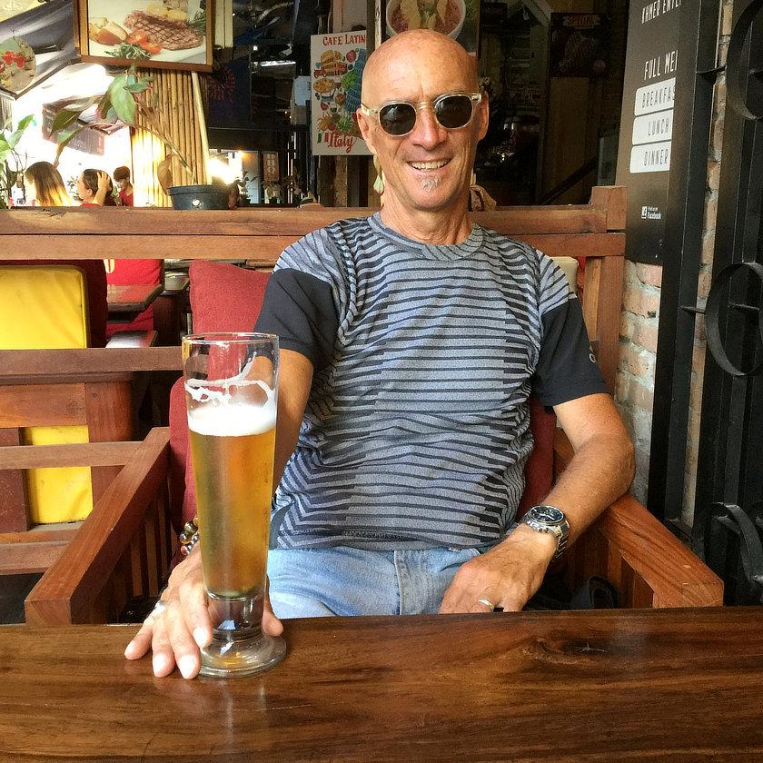 Alain dans Pub Street