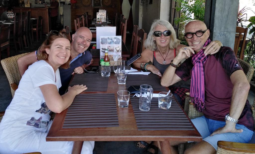 Valérie, Gérald et nous chez Madame Moch