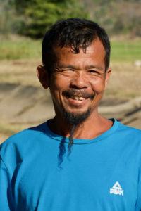 Paysan laotien de Don Khong