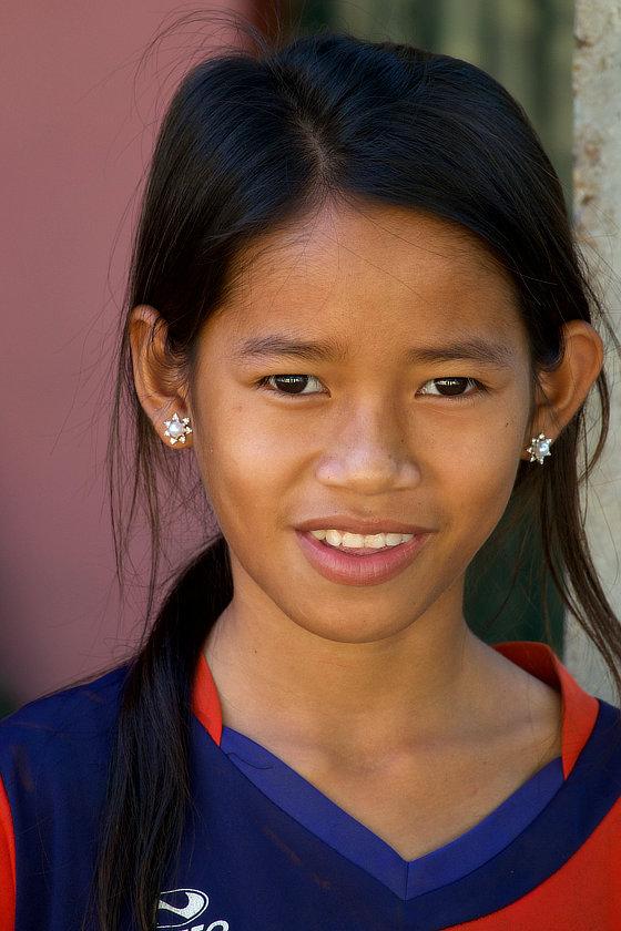 Jeune Laotienne