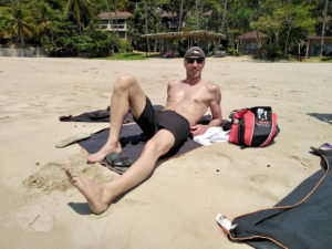 Bruno, le sportif en vacances à Ko Lanta