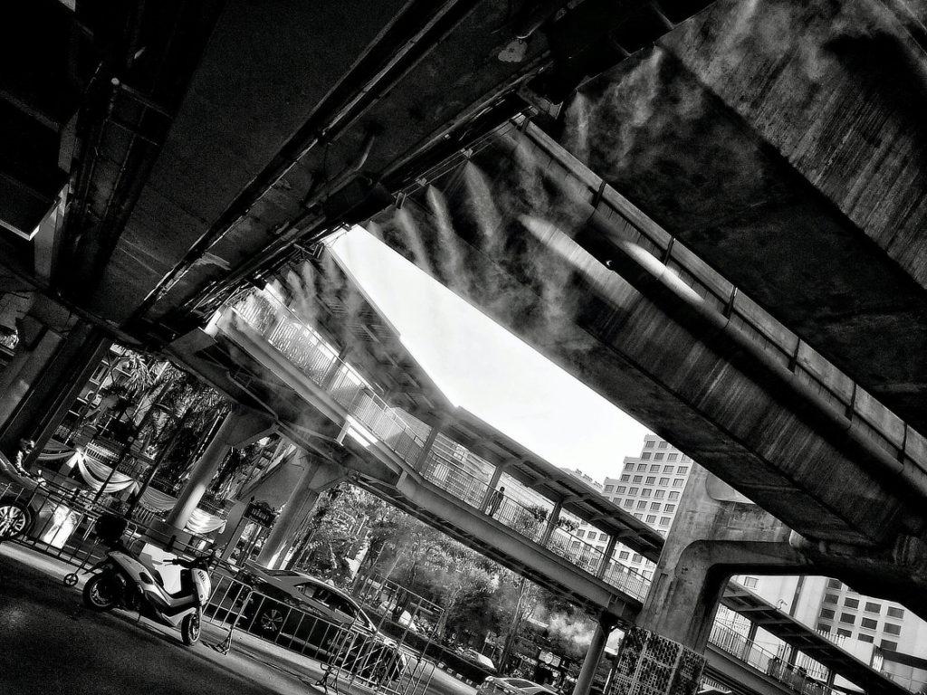 Dans le quartier Siam de Bangkok © Alain Diveu
