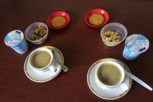 Petit-déjeuner pendant le confinement © Alain Diveu